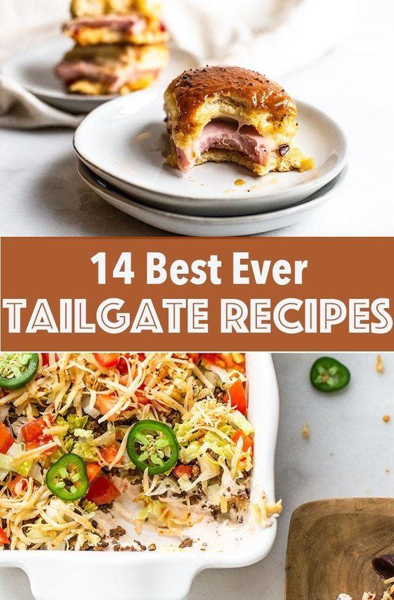 14 Best Ever Tailgate Recipes - Miss Allie's Kitchen