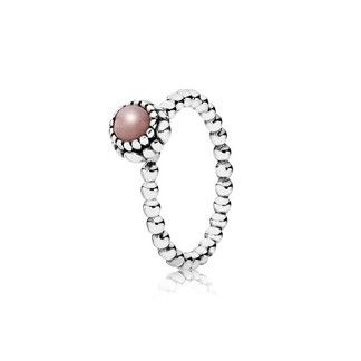 The October Birthday Blooms PANDORA Ring features a solitaire stone surrounded by a beautiful silver blossom.  The pink opal gemstone represents faithfulness, hope and truth. In addition to birthdays, birthstone rings are ideal for Mothers Day, anniversaries, celebrations and achievements. Wear PANDORA rings independently or stack several for a fun layered look    * PANDORA offers European even number ring sizing. If your finger measures between ring sizes we recommend selecting the next…