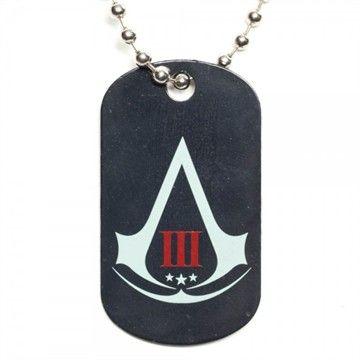 Assassins Creed 3 Logo Dog Tag - http://demfab.com/assassins-creed-3-logo-dog-tag/