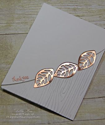 This card is inspired by a card I saw on Pinterest — it didn't use Stampin' Up! product but I knew I could make it with my SU supplies.  I l...: