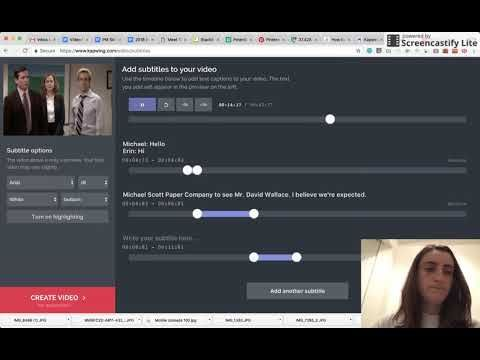 Add subtitles to your video with kapwings video subtitle maker this video shows how to add permanent subtitles to your videos instantly online using the kapwing subtitle maker ccuart Gallery
