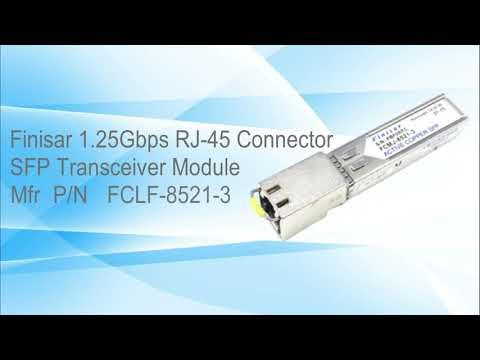 Fclf 8521 3 Finisar 1 25gbps 1000base T Copper Sfp Transceiver Module En 2020
