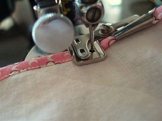 sewing machine binding attachment