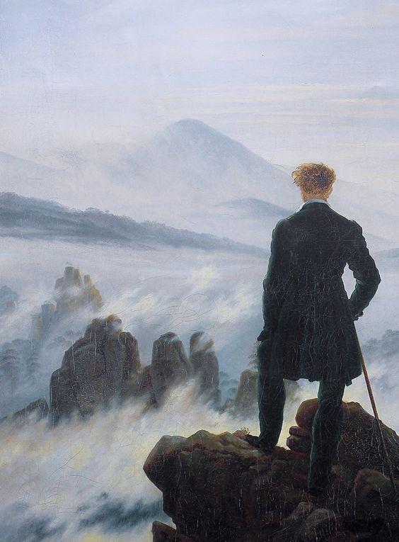 El Caminante Sobre El Mar De Nubes Caspar David Friedrich Arte Selecto Caspar David Friedrich Painting Art Caspar david friedrich wallpaper hd