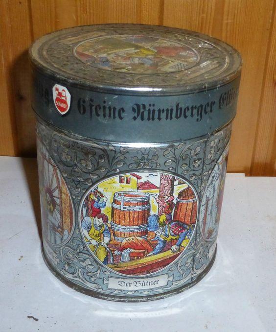 Elisen Lebkuchen alte Dose von 1995 Nürnberger Gebäckdose Blechdose | eBay