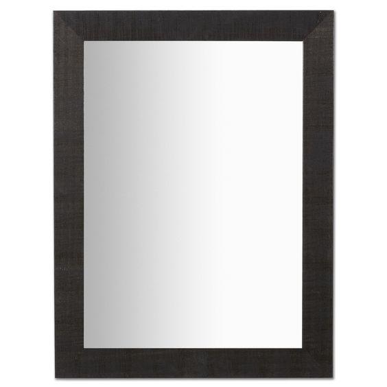Espejo Seven, negro 82X62