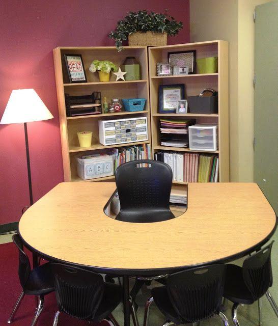 Teaching Bookshelves and Desks on Pinterest
