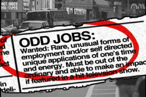 really weird jobs