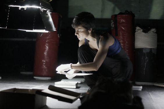 Baños Roma 2013 Ídolo de Box, Cd. Juarez, Mantequilla Nápoles, teatro documental