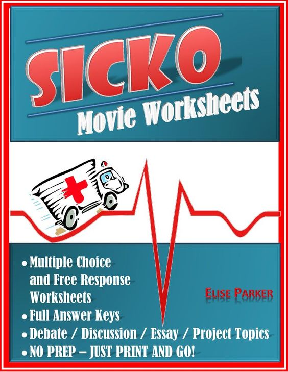 essay about the movie sicko Get an answer for 'i need an opinion about michael moore movie sickoi need an opinion about michael moore movie sicko' and.