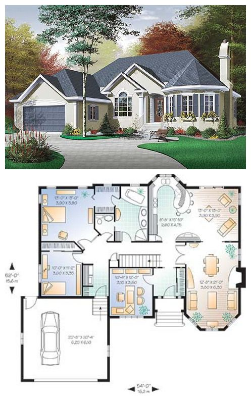 Victorian Cottage Plan 3313 Victorian House Plans Cottage Plan House Plans