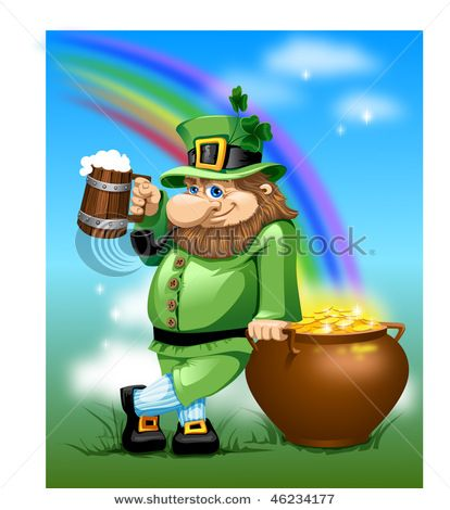This is what people think of when they think of St. Patrick's Day.