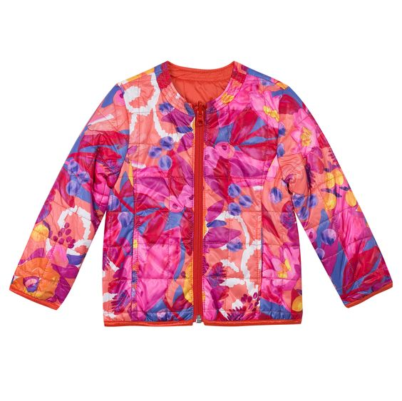 sous doudoune rversible catimini catimini spiritethnique reversible colore rose - Doudoune Colore