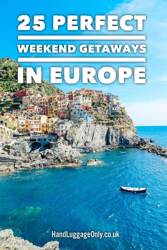 25 Perfect Weekend Getaways In Europe - Hand Luggage Only - Travel, Food & Photography Blog