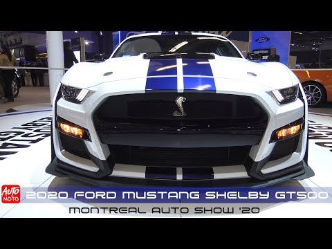 2020 Ford Mustang Shelby Gt500 Exterior And Interior Montreal Auto Show 2020 Youtube In 2020 Ford Mustang Shelby Gt500 Mustang Shelby Ford Mustang Shelby