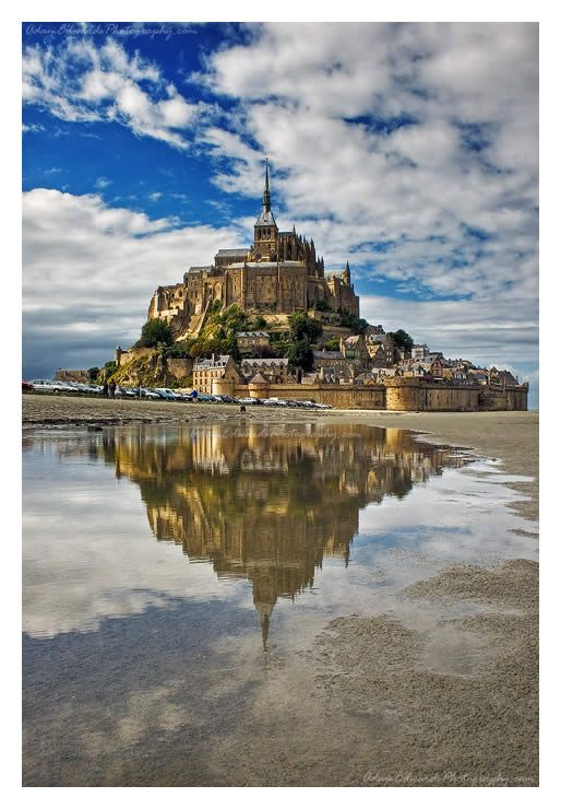 Mont. St. Michael in France