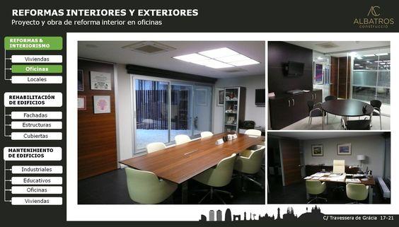 #reforma #oficinas #interiorismo #barcelona #albatrosconstruccio