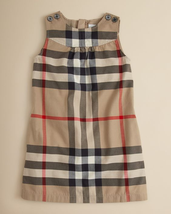 Burberry Girls' Dyran Dress - Sizes 7-14 | Bloomingdale's | Baby ...