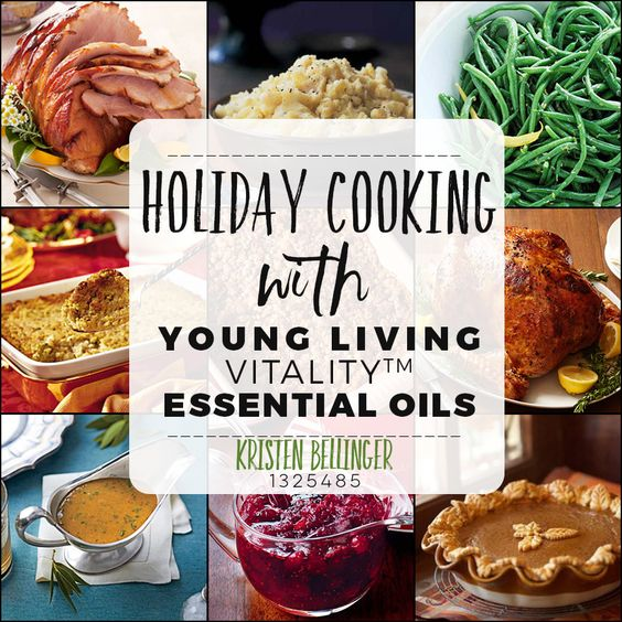 It's the holidays and you deserve a delicious feast!  Enjoy these must have holiday feast recipe flavored with essential oils.