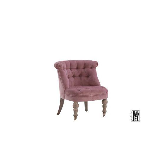 fauteuil crapaud capitonn en velours sa couleur vieux. Black Bedroom Furniture Sets. Home Design Ideas