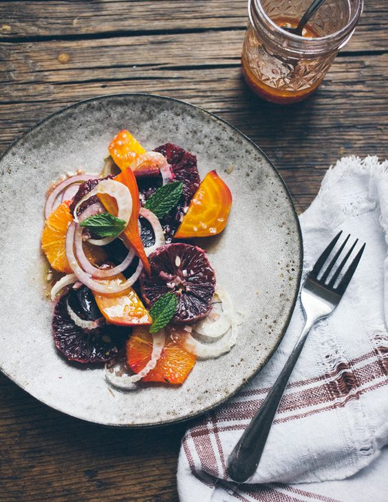 Blood Orange & Beet Salad (I offer a similar salad on our ...
