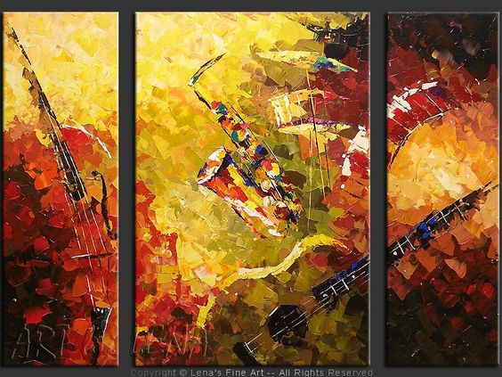 Sympho Jazz Perfidia Thoughts Musicals And Music Painting