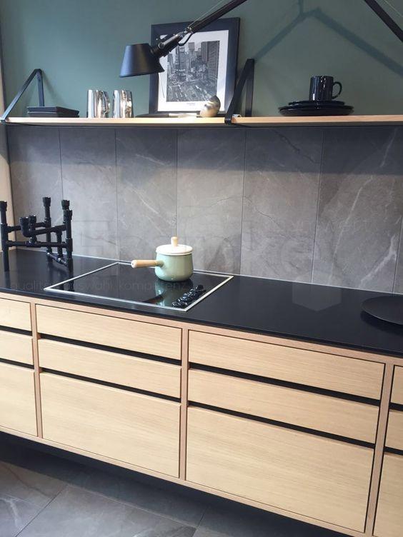 Höchste Eleganz mit der Serie Somero - nicht nur steinig, robust - k amp uuml che landhaus modern