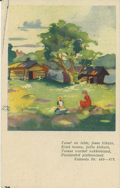 Martta Wendelin - Kalevala 29, 469-472: