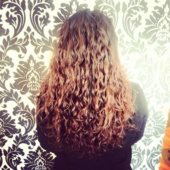 long spiral perm | Curly Hair / Perms | Pinterest | Spiral Perms ...