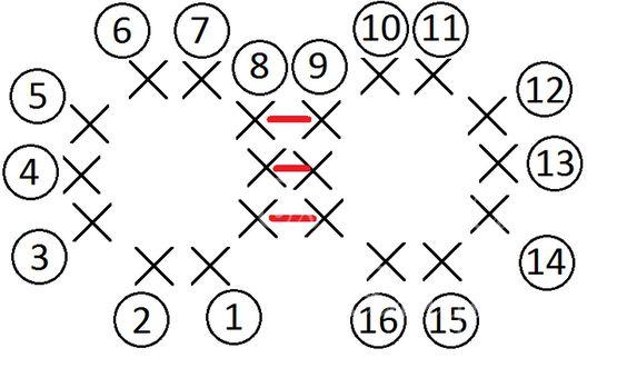 Cabeza   Con color crudo.     Vta 1: 6 cs en anillo mágico. Colocar un marcador para indicar el inicio de la vuelta. Mover el marcador ...