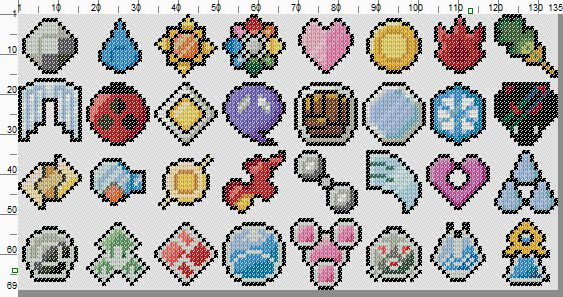 perler pokemon badges - Google Search