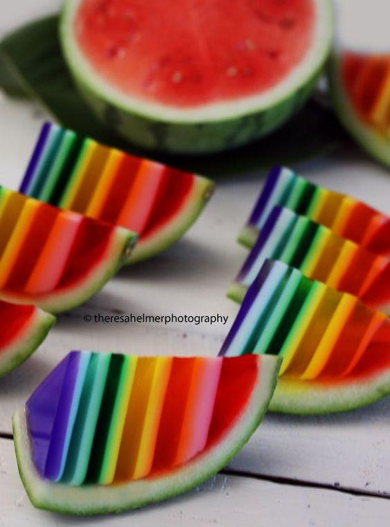 Na melancia