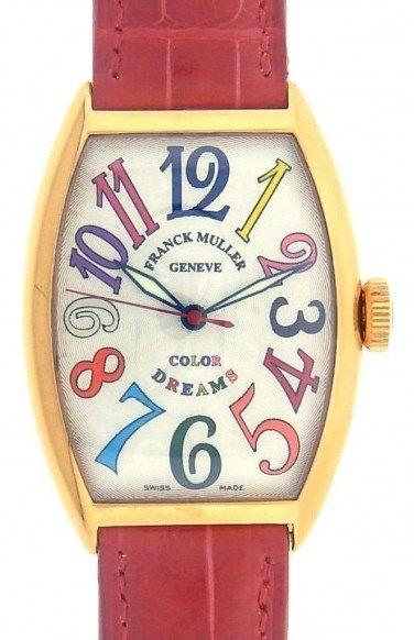 Franck Muller Color Dreams 5850SC 18k Rose Gold Watch