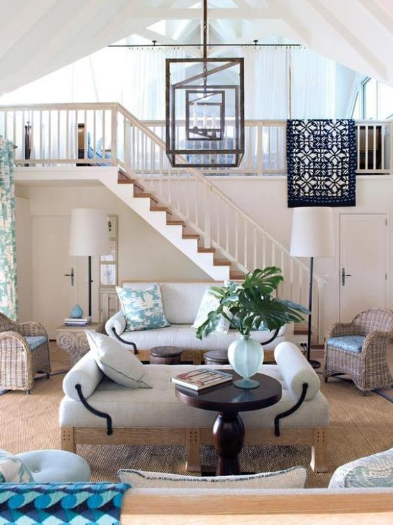 Love this room? Make it yours.    We've made our favorite photos shoppable...just browse and click to buy --> http://hg.tv/swe5: Living Rooms, Dream House, Livingroom, Dixon Interiors, Dream Beach Houses, Light Fixture, House Idea