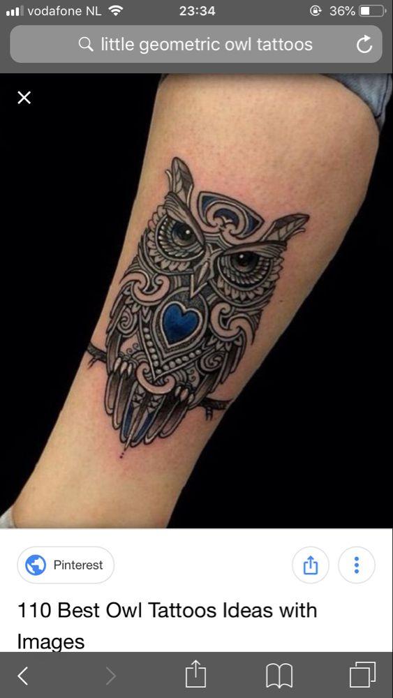 Pin by Rebeca Castillo on Tattoo | Tattoos, Mens owl tattoo, Owl ...