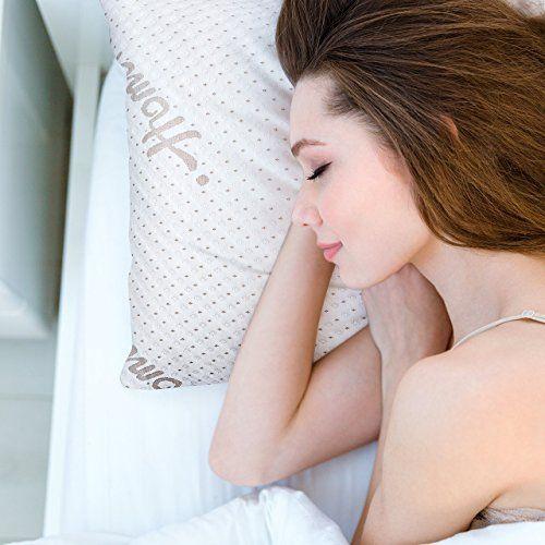 Homitt Shredded Memory Foam Pillow for