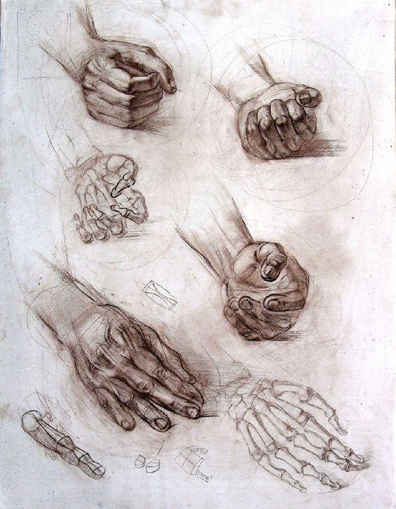 Boceto manos