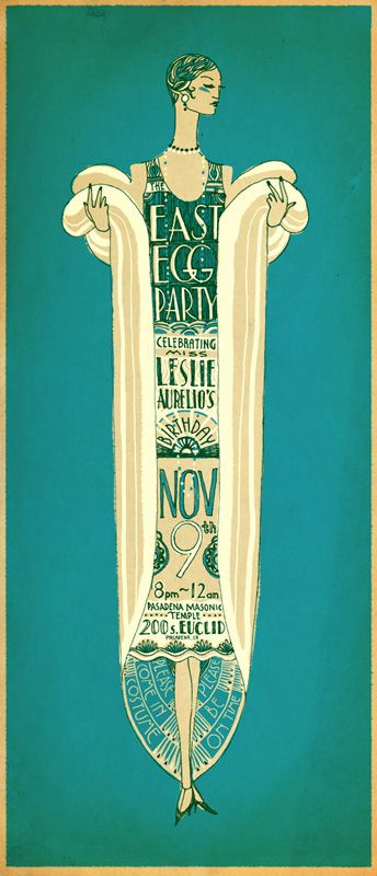 East Egg Party - invite by Jared Purrington