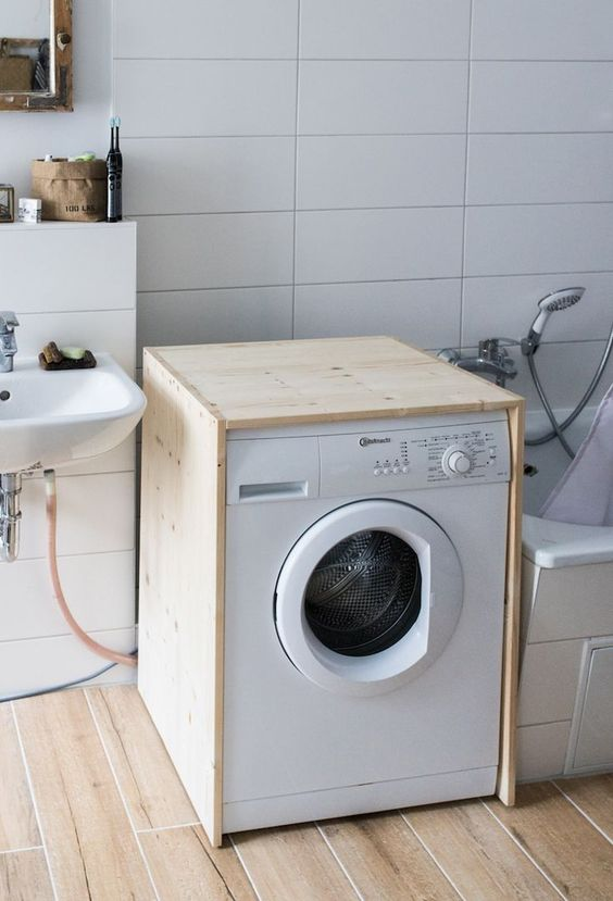 Diy Waschmaschinen Verkleidung Doitbutdoitnow Waschmaschine Regal Uber Waschmaschine Badezimmer Accessoires