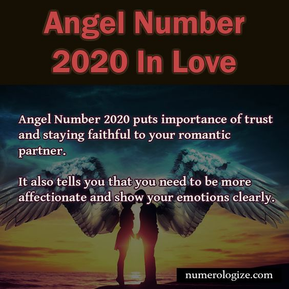 Angel Number 2020 in Love