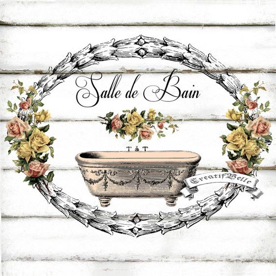 Pinterest the world s catalog of ideas - Salle de bain shabby ...