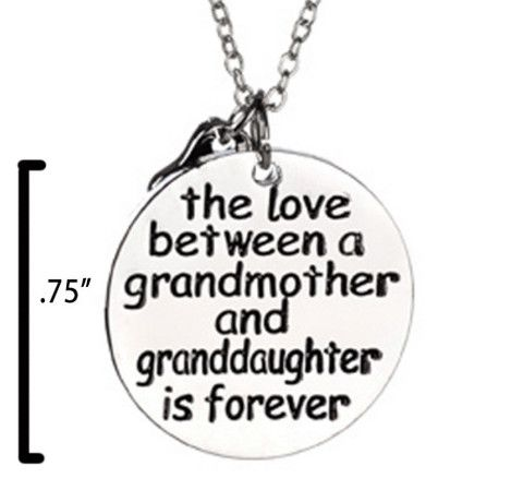 The Love between a grandmother and a granddaughter is forever