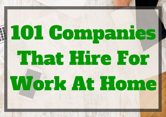 companies that hire work from home employees work from home jobs 101 companies that hire remote 4370