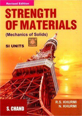 Strength Of Materials By Rs Khurmi Pdf Free Download Strength Of Materials Materials Engineering Civil Engineering Books