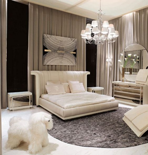 Bedroom Interior Design: Luxury Bedroom Interior Design, Inspiring 5 Star Hotel