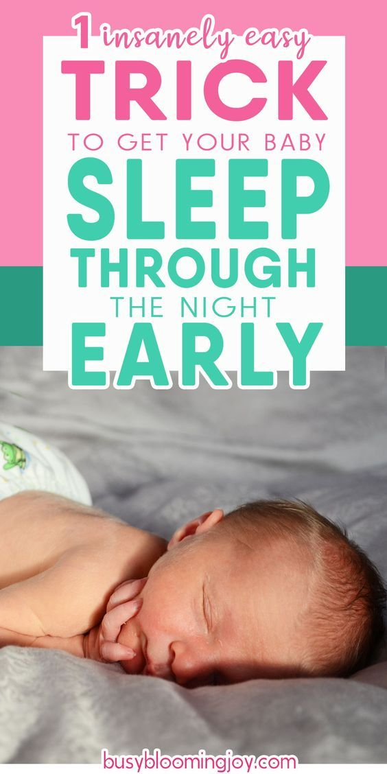 How To Get Infant To Sleep Longer Stretches At Night