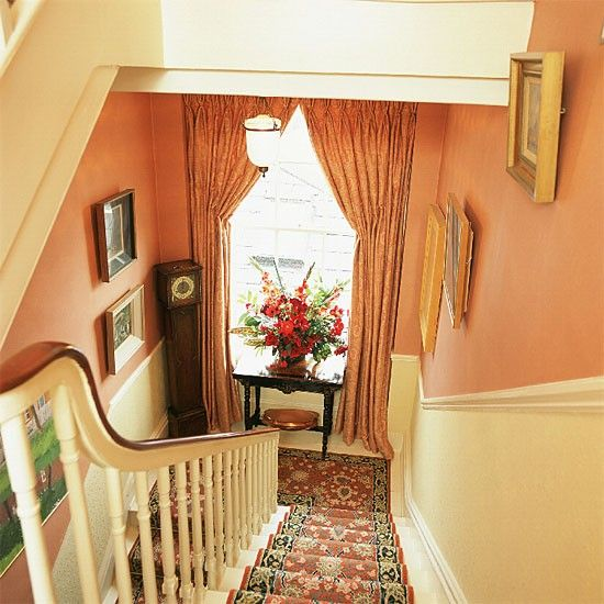 Small hallway | Landing furniture | Decorating ideas | housetohome.co.uk