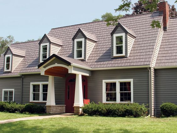 Best Roofing Products Dark Tan And Metal Roof On Pinterest 640 x 480