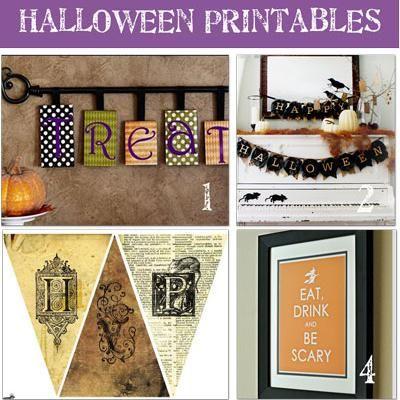 20 free halloween crafts