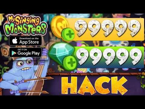 My Singing Monsters Hack How To Get Free Gems And Coins Android And Ios Youtube Singing Monsters My Singing Monsters My Singing